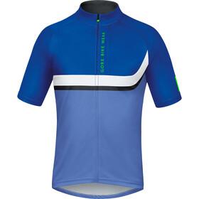 GORE BIKE WEAR POWER TRAIL Kortærmet cykeltrøje Herrer blå